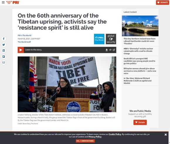 On the 60th anniversary of the Tibetan uprising, activists say the 'resistance spirit' is still alive