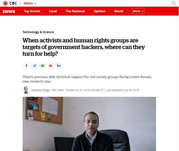 When activists and human rights groups are targets of government hackers, where can they turn for help?